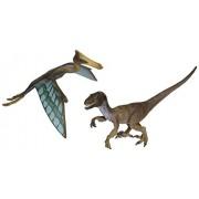 Schleich World of History Velociraptor & Quetzalcoatlus Set