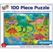 Galt legpuzzel Dinosaurussen 100 stukjes