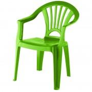 Merkloos Kinderstoel groen kunststof 37 x 31 x 51 cm