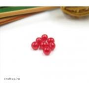 Mărgele rotunde perlate (100g)