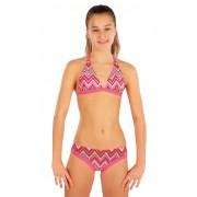 LITEX Dívčí plavky kalhotky bokové 57581 158