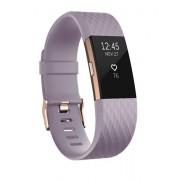 Fitbit Charge 2 Wristband activity tracker OLED Senza fili Oro, Lavanda