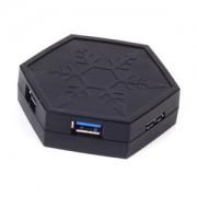 Hub USB 3.0 Silverstone EP01 Black