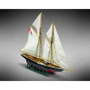 Mini Mamoli Drewniany model do sklejania żaglowca Bluenose - Mamoli MM11