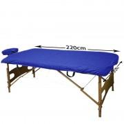 Blanco 100 sábanas desechables súper ajustable azul 95x220cm