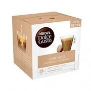 Nescafé Dolce Gusto NESCAF Dolce Gusto Café Cortado Espresso Macchiato, Pack de 3 x 16 Cápsulas Total: 48 Cápsulas de Café