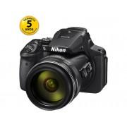 Nikon Cámara Compacta NIKON COOLPIX P900 (Negro - 16 MP - ISO: 100 a 1600 - Zoom Óptico: 83x)