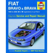 Haynes Workshop manual Fiat Bravo & Brava Essence (1995-2000) 3572