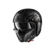SHARK Helmet Casco Jet S-Drak Carbon Dagon Carbonio-Antracite taglia XL