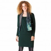 Yest Jersey-klänning i skogsgrönt (Stl: S, XL, )