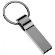 Wefuse USB 2.0 pendrive 16GB Metal Keychain usb flash drive 16 GB Pen Drive(Silver)