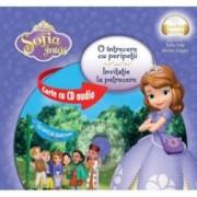 Disney Audiobook. Sofia Intai. O intrecere cu peripetii. Invitatie la petrecere - format mic carte + CD