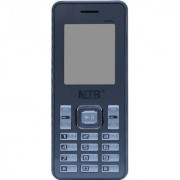MTR MT guru dual sim with dedicated memory slot stronger battery and 1.8 inces display mobile phone in Grey color
