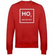 The Christmas Collection Sudadera Navidad Ho Ho Ho - Hombre/Mujer - Rojo - XL - Rojo