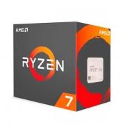 AMD Procesador Ryzen 7 2700X, Socket AM4, 3.70GHz - 4.30Ghz, 8 Core 768kb, 16MB L3 Cache, 64bit 105W