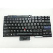 Клавиатура за IBM T60 T61 R60 R61 Z60T Z61T Z60M Z61M R400 R500 T400 T500 W500, US, кирилица, черна