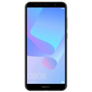 "Telefon Mobil Huawei Y6 2018, Procesor Quad-Core 1.4GHz, IPS LCD Capacitive touchscreen 5.7"", 2GB RAM, 16GB Flash, 13MP, Wi-Fi, 4G, Dual SIM, Android (Negru) + Cartela SIM Orange PrePay, 6 euro credit, 6 GB internet 4G, 2,000 minute nationale si internati"