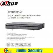 Dahua Smart Search XVR Digital Video Recorder XVR7104H 4ch Support HDCVI/AHD/TVI/CVBS/IP video input each channel up to 5MP