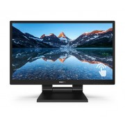 """Touch Screen, Philips 23.8"""", 242B9T, SmoothTouch, 5ms, 10000:1, VGA/HDMI/DVI, FullHD"""