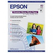 Epson C13S041315 Photo Paper Glossy A3 255gsm White 20 Sheets