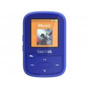 SanDisk MP3-spelare 16 GB Blå Monterings-clip, Bluetooth, Vattentät