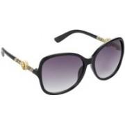 Redleaf Over-sized Sunglasses(Grey)