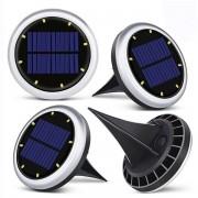 Solcell LED Trädgårdslampor 11cm