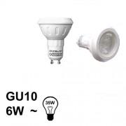 Verlichting GU10 LED Spot 6W Warm