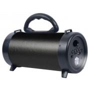 Hordozható hangszóró Bluetooth multimédia lejátszó akkumulátorral LED lámpával Mp3,FM-Rádió, 3,5 jack, USB, Micro SD kártya - CH-M42