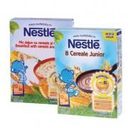 Nestle Pachet Promotional: 8 cereale Junior 250 g + Mic dejun cu cereale si miere 250 g