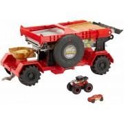 Hot Wheels Monster Truck Pista Downhill Race & Go. Playset con Du...