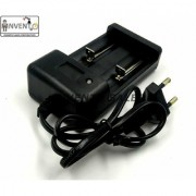 INVENTO 2 cell Li-ion Cell Battery Universal AC Wall Charger For 18650 16340 14500 10440