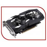 Видеокарта ASUS GeForce GTX 1050 Ti 1341Mhz PCI-E 3.0 4096Mb 7008Mhz 128-bit DVI HDMI HDCP DUAL-GTX1050TI-O4G-V2
