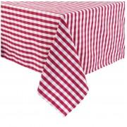Mitre Comfort Nappe Vichy Rouge-Blanc 100% polyester Disponibles en 3 tailles