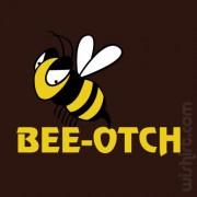 T-shirt Bee-otch