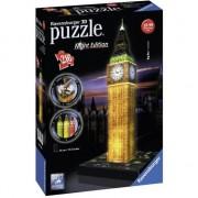 Puzzle Ravensburger 3D - Big Ben, 216 piese, luminos