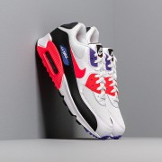 Nike Air Max 90 Essential White/ Red Orbit-Psychic Purple-Black
