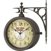 Ceas de perete cuarţ, antic/negru, TFA 60.3011
