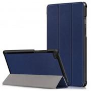 Lenovo Tab E8 Tri-Fold Folio Case - Dark Blue