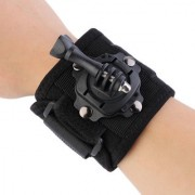 Action Pro - 360 Degree Rotating Band Glove Style Camera Wrist Strap Hand Mount for Gopro SJcam