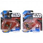 Mattel cgw52 modellini hot wheels star wars navicelle spaziali volanti assortiti (no scelta)