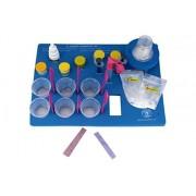 Butterflyfields DIY Chemistry Experiment Kit - Heating of Camphor, Vinegar + Baking Soda, Litmus Test & Titration for Grade 7 Kids (Multicolour)