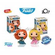 Aurora Y Merida Disney Funko Pop Original Peliculas Princesa