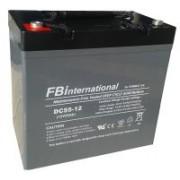 Acumulator 12V 50Ah VRLA, AGM 230x138x208mm FBinternational for ROMBAT DC50-12