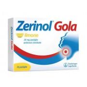 Sanofi Spa Zerinol Gola Limo 20 Mg Pastiglie 18 Pastiglie In Blister Al/Al