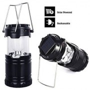 Favourite Deals Solar Camping lamp Outdoor Lighting Portable Camp ( Black )