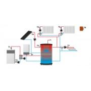 Fűtésrendszer vezérlés TECH HU-407N
