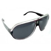 Polo House USA Retro Square Sunglasses(Black)
