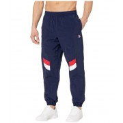 Fila Zaim Track Pants with Cut and Sew Panels PeacoatWhiteChinese Red