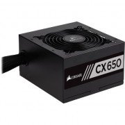 Sursa Corsair CX Series CX650, 650W, 80 Plus Bronze, Eff. 85%, Active PFC, ATX12V v2.4, 1x120mm fan